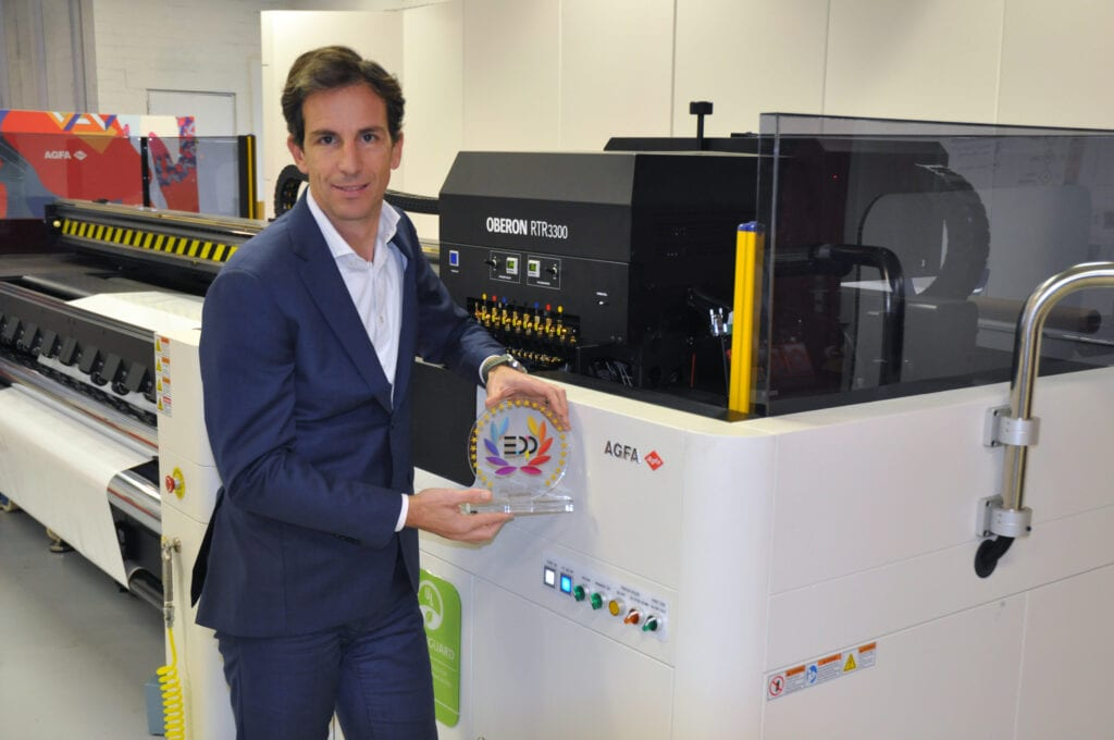 Philip Van der Auwera, Product Manager w firmie Agfa. Fot. Agfa